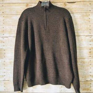 POLO by Ralph Lauren | Brown Lamba Wool Sweater| L